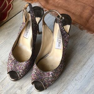 Jimmy Choo Sparkle Heels